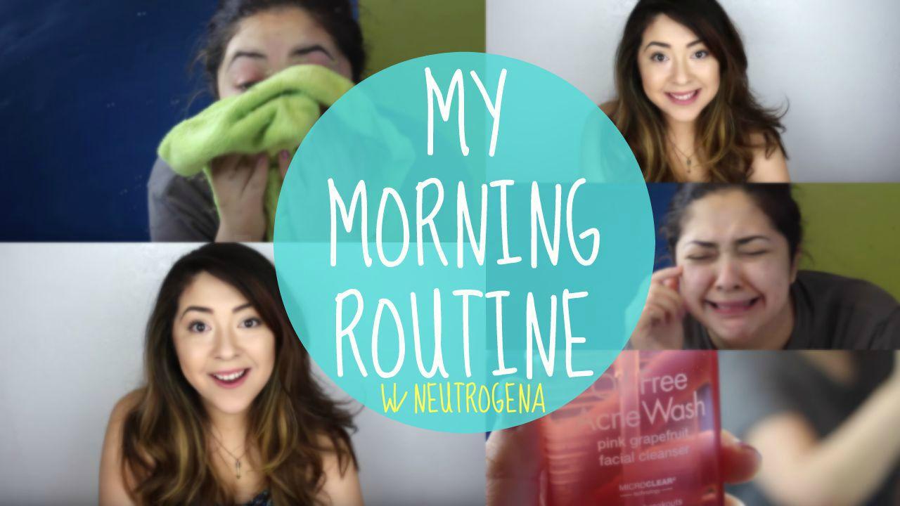 My morning routine w/ Neutrogena! #LETSSOLVEIT